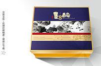 墨韵香荷月饼包装设计素材