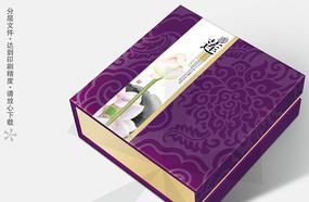 清品逸香高档月饼包装盒