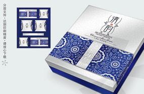 清韵高档月饼包装盒