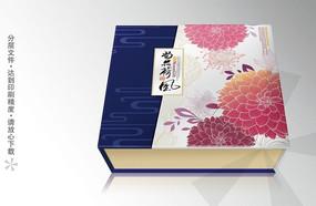 尚品荷风高档月饼包装盒
