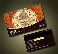 咖啡厅高档创意VIP卡