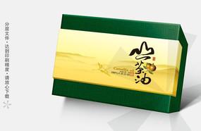 山茶油礼盒包装设计