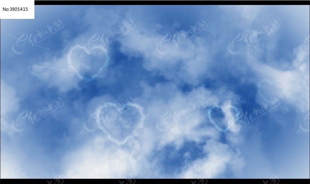 视频_爱的天空视频背景
