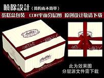 7款 生日蛋糕盒设计矢量CDR下载