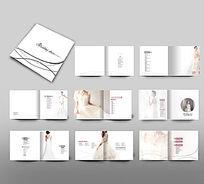 简约婚纱画册版式设计