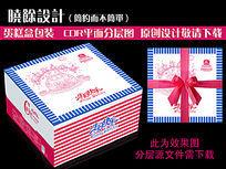 7款 生日蛋糕包装设计矢量CDR下载