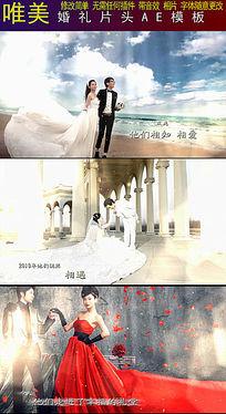 最新唯美结婚AE片头视频