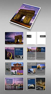 欧洲旅游画册版式设计