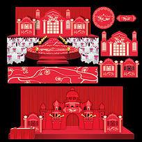 新欧式城堡主题婚礼布置设计