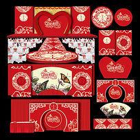 新中式传统主题婚礼设计
