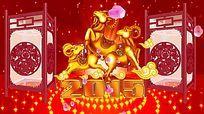 2015羊年元宵节宫灯视频