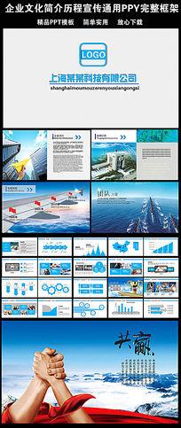 企业产品简介ppt模版_ppt模板/ppt背景图片图片素材
