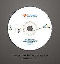 清新婚礼视频光盘封面设计