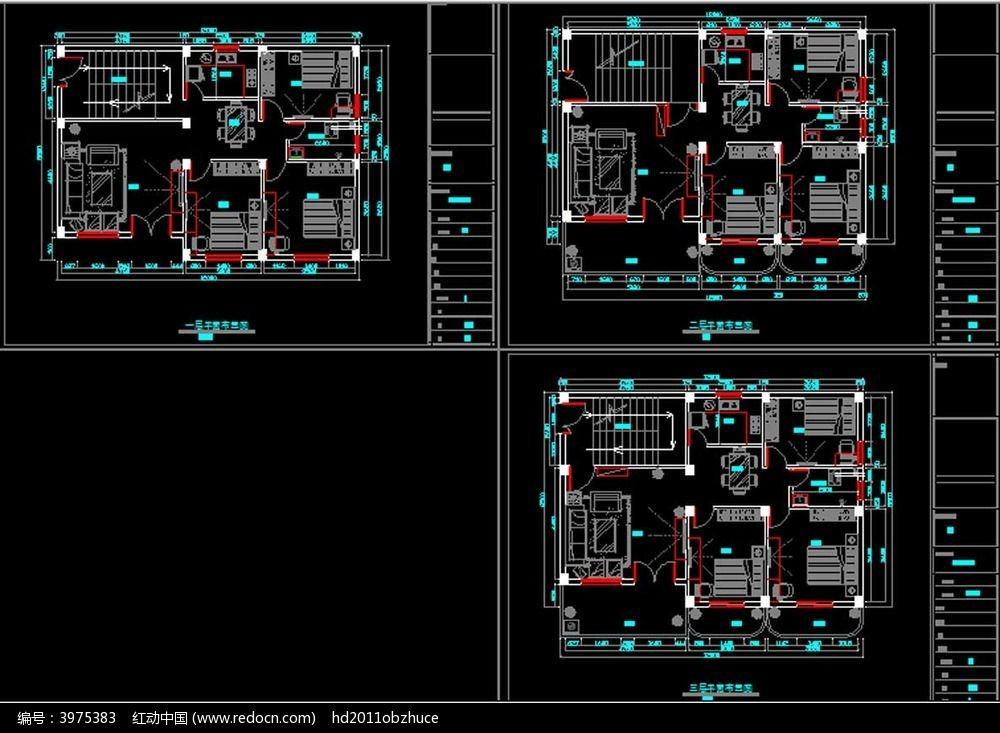 标签:CAD家装平面布置图 原始结构图 装修设计 室内平面布置 cad图