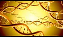 基因分子结构视频背景