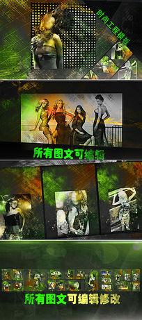 时尚写真视频相册AE模板