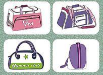 箱包设计 休闲包 旅行包款式图