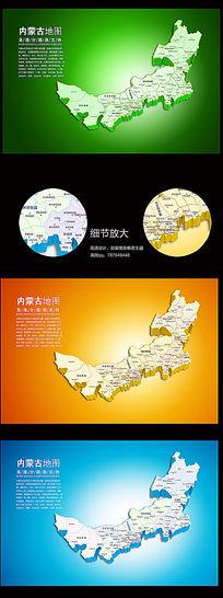 湖北省地图矢量素材_海报设计/宣传单/广告牌图片