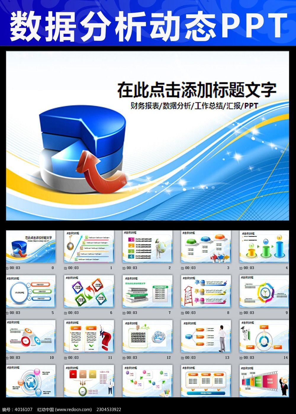 调研报告 PPT PPT模板 PPT图表 动态PPT 财务报告 销售 统计 数据图片