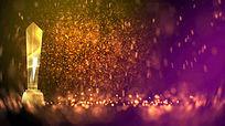 粒子颁奖背景视频
