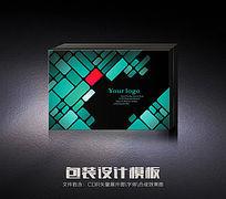时尚数码包装盒(展开图)