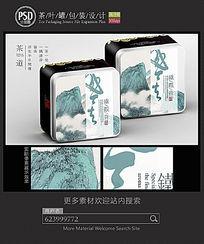 铁观音茶铁罐包装设计 PSD