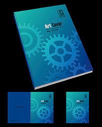 五金机械画册封面设计