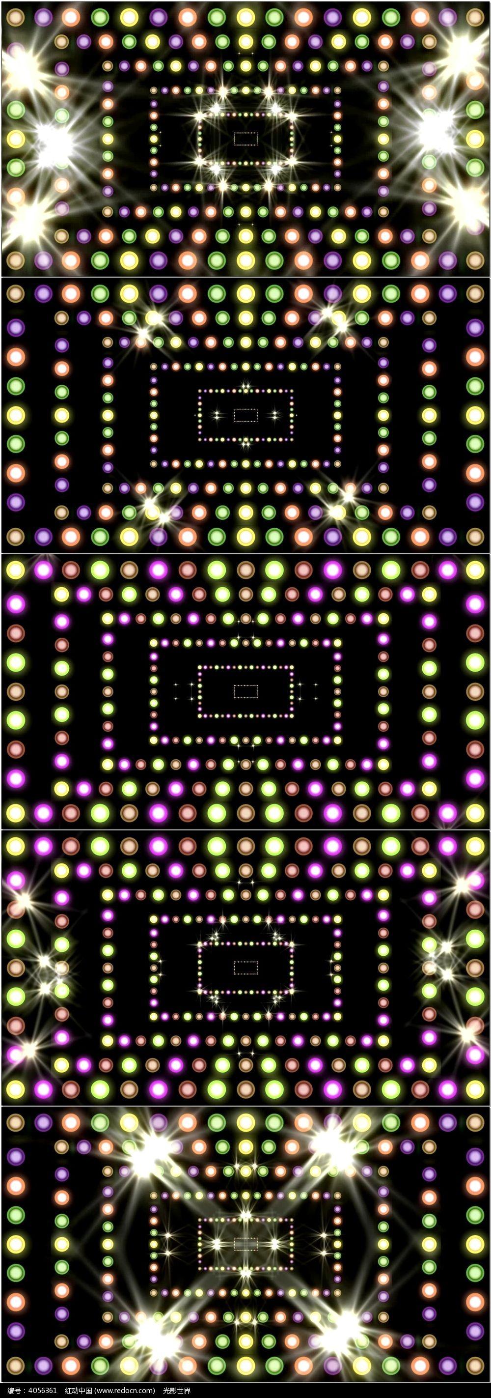 三个灯循环亮接线图