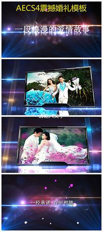 震撼大气AE婚礼相册视频模板