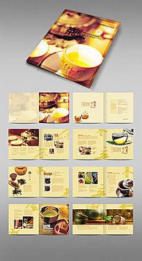 茶叶画册设计模板