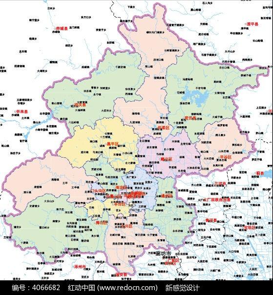 北京地图ai设计
