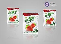 草莓干食品外包装