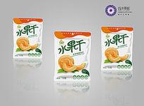 哈密瓜食品包装模版 AI