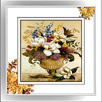 油画花卉装饰画图案
