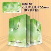 绿色环保纸袋设计
