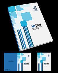 网络科技公司宣传册封面