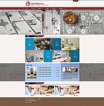 装潢公司网站设计效果图