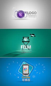 简洁现代企业logo演绎视频AE模板