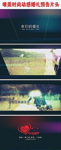 浪漫清新怀旧纪念婚礼视频AE模板下载