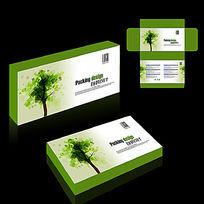 绿色产品包装盒设计
