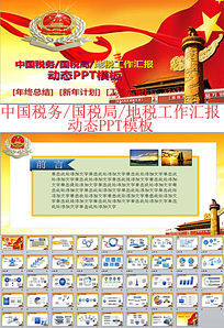 中国税务国税局地税工作汇报ppt