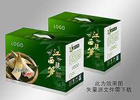 竹笋纸盒包装