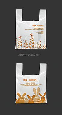 卡通塑料袋设计