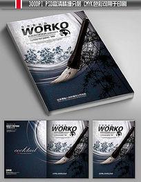大气水墨宣传画册封面设计