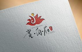 字母j美容美发养生logo设计模板