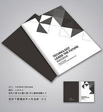 简约黑白风格封面设计图片