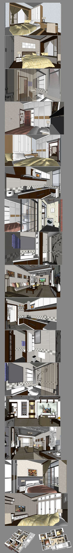 室内家装布置的SU模型设计