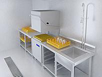 洗碗机3d模型