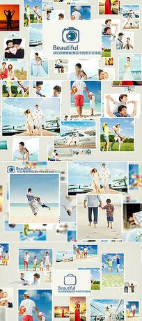 家庭相册视频ae模板