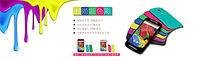 淘宝彩色手机壳促销海报设计